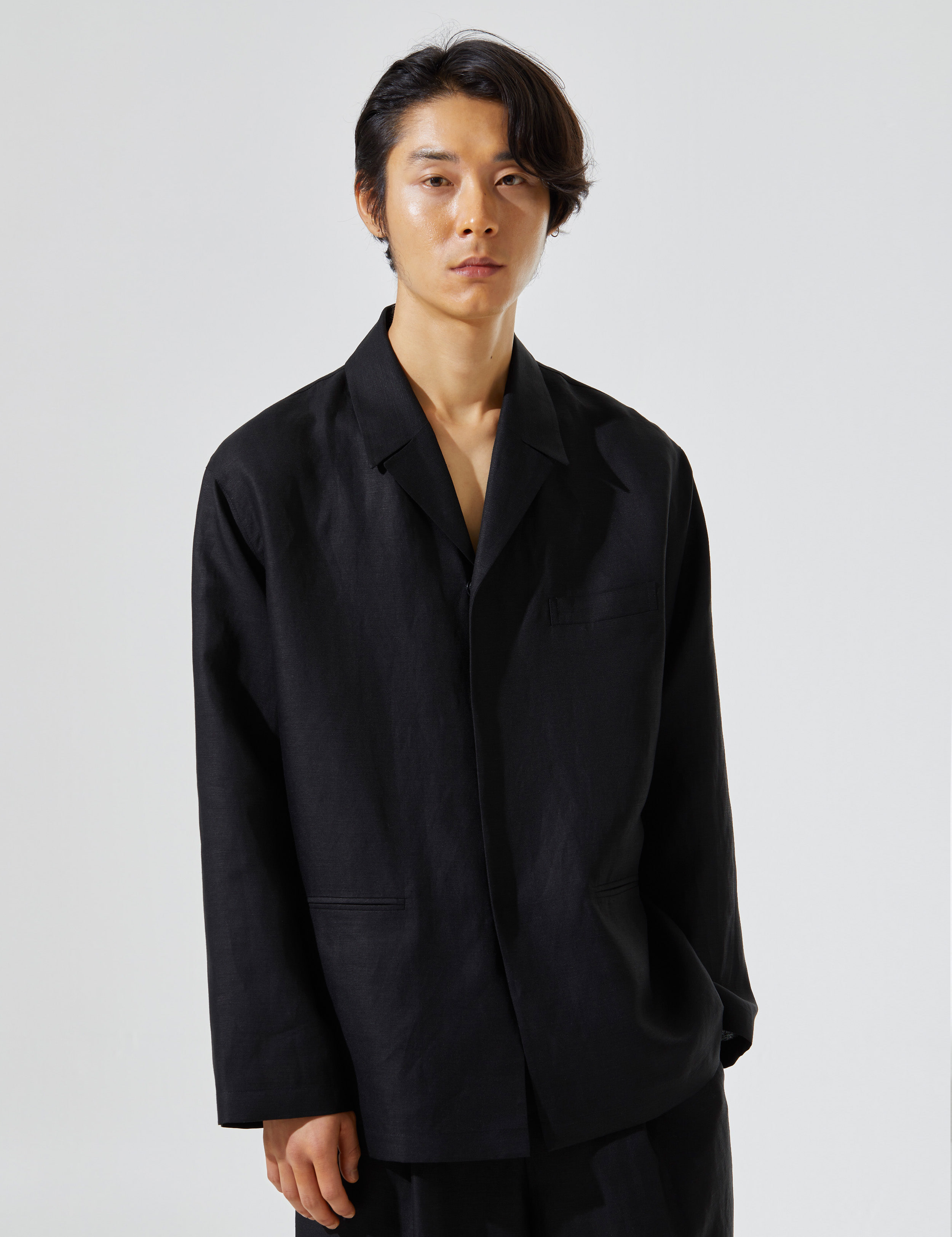 N.7 Shirt-jacket Black