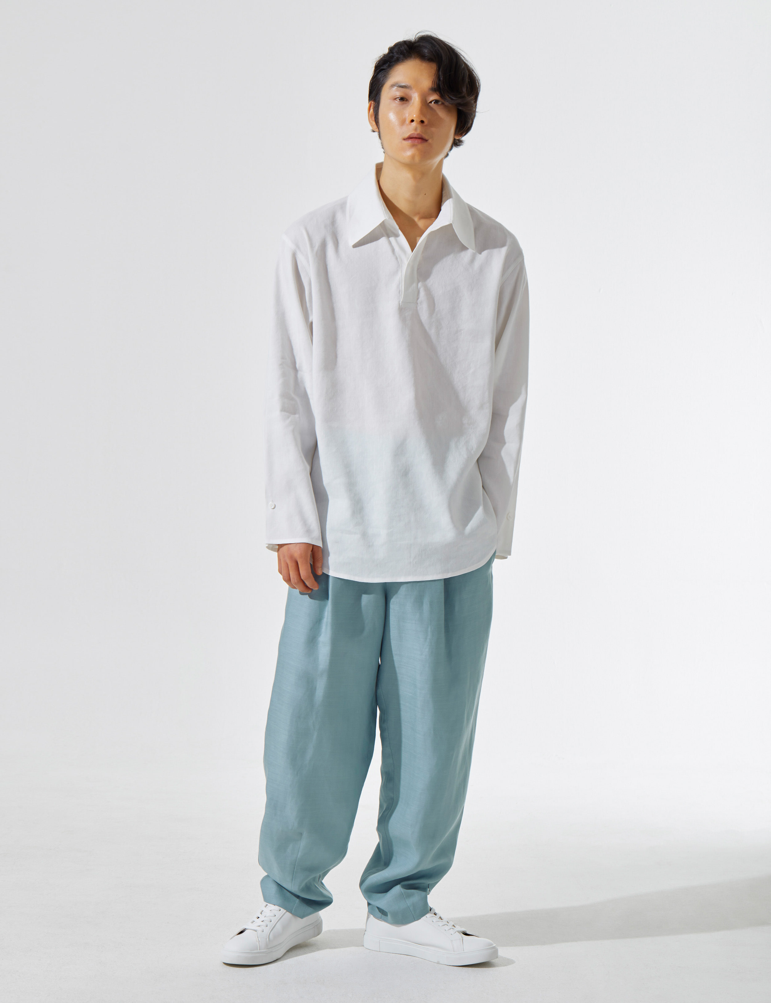 N.7 Waist wide pants Ciel