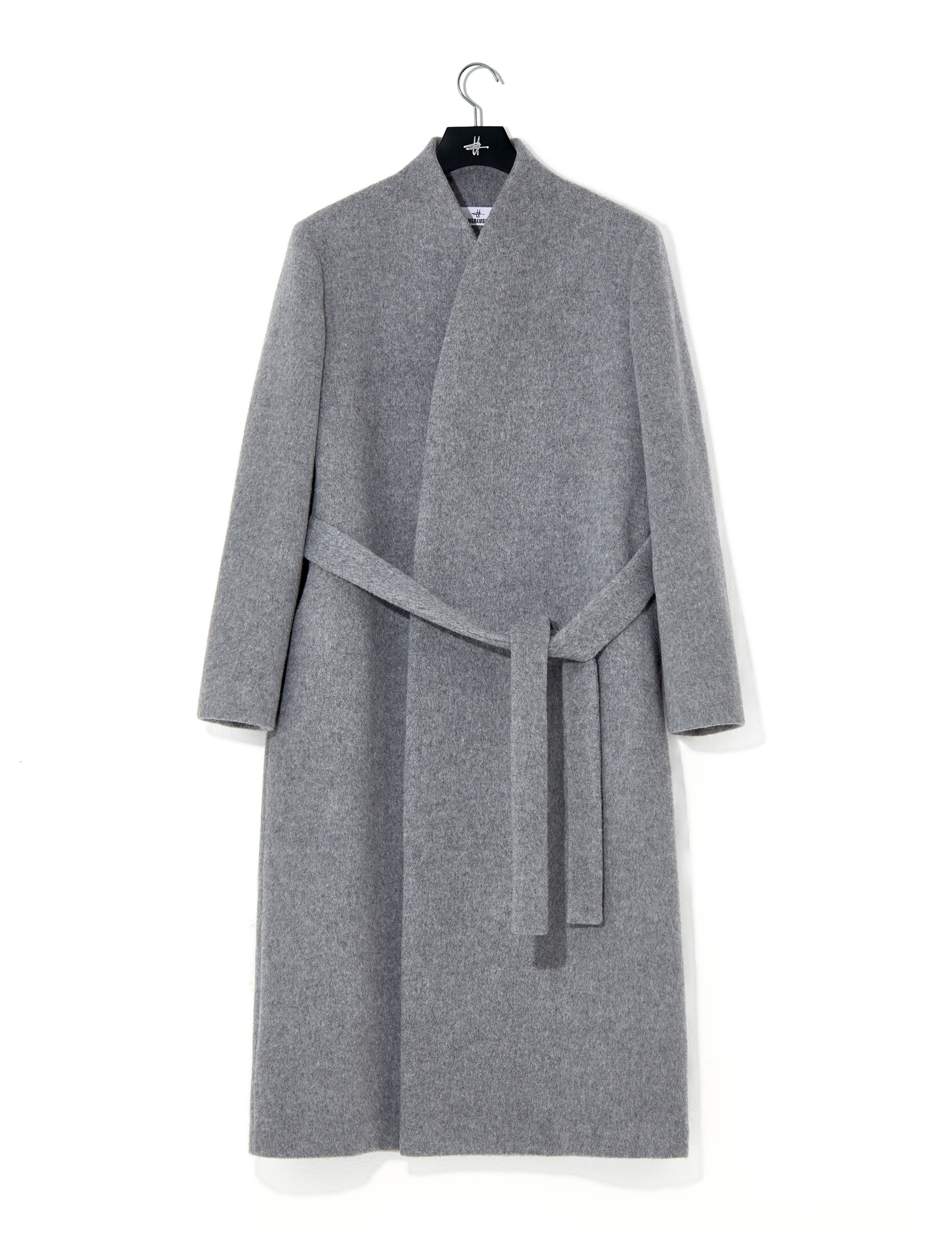 Signature overcoat gray