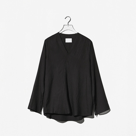 N.EDITION V-SHIRT Black