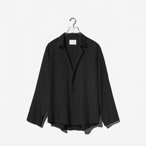 N.EDITION DOUBLE SHIRT Black