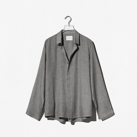 N.EDITION DOUBLE SHIRT Gray