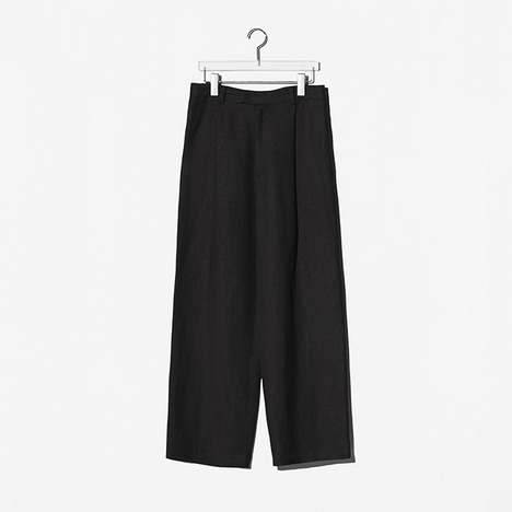 N.EDITION OVER PANTS Black