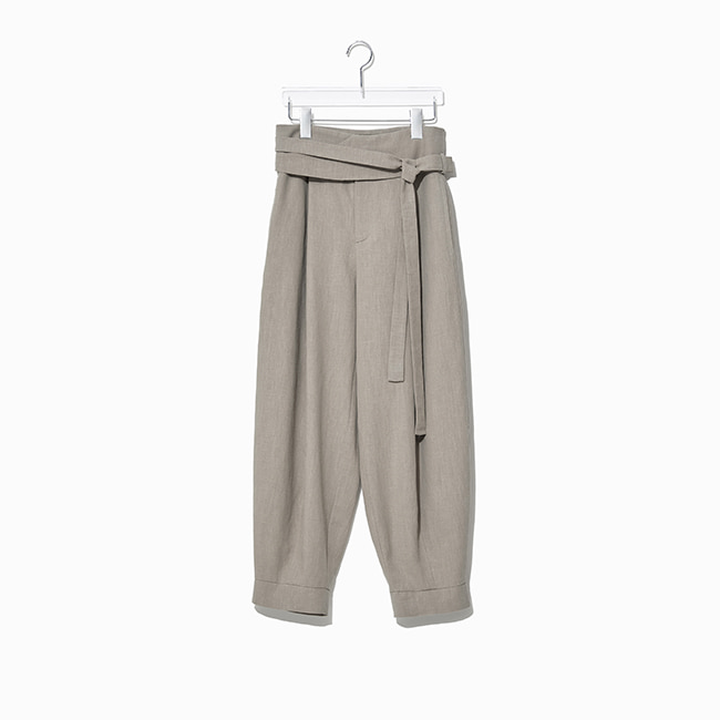 WING PANTS beige