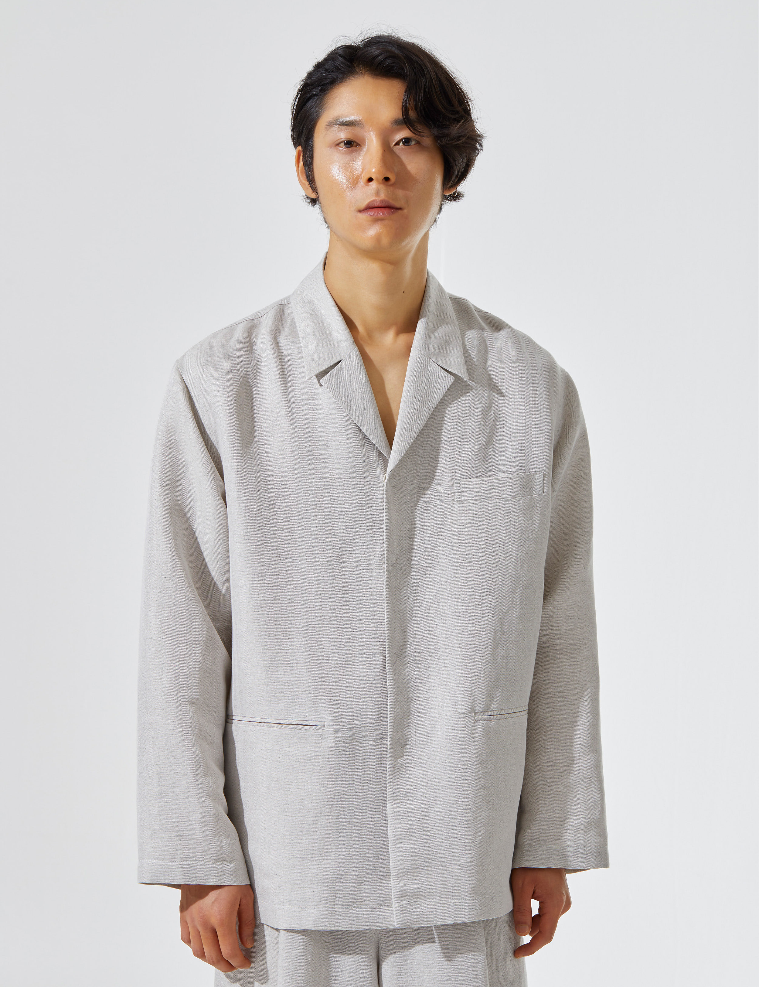 N.7 Shirt-jacket Natural