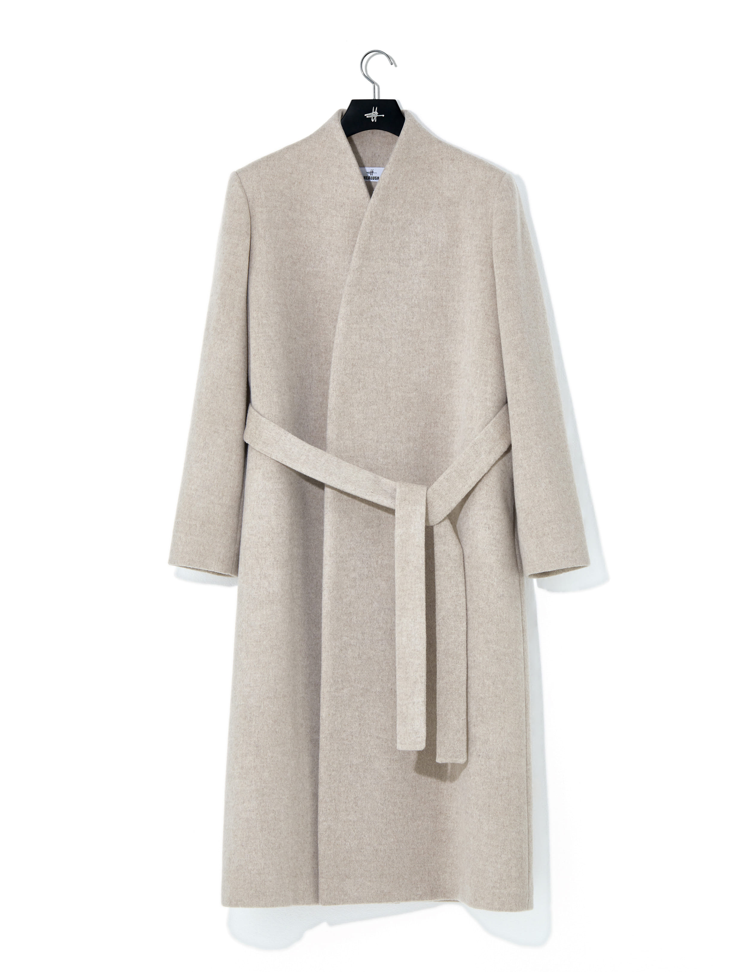 Signature overcoat oatmeal